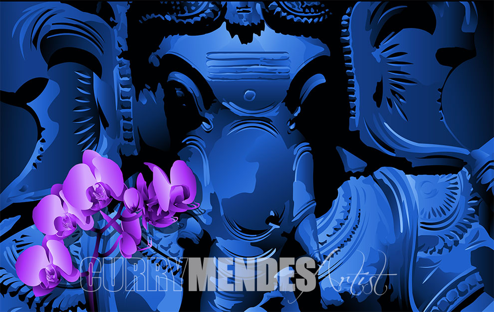 Ganesh-pupleorchid