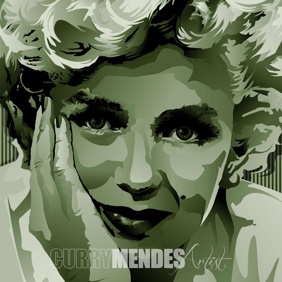 Marilyn-green